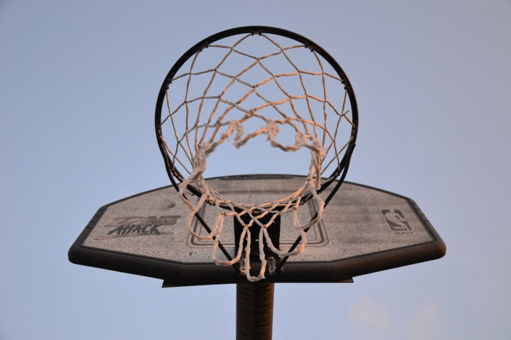 basketball hoop ring